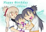 HBD Oboro! by SniperGYS