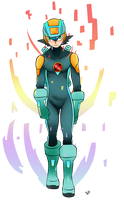 Megaman Hubstyle by berny17