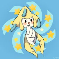 Jirachi's wish by Amphany