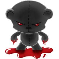 Little Pets of Horror - Bear 1 by Flame-Ivy