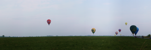 Balloons over the airfield 2 by asiak-91
