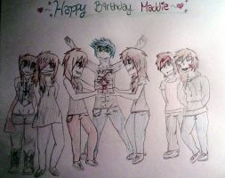HAPPY BIRTHDAY MADDIE by kat1088