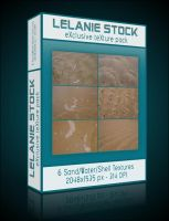 Exclusive Sand Texture Pack 01 by Lelanie-Stock