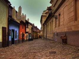 The Golden alley by lybar