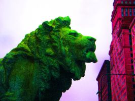 Chicago's Lion by RaCzarina