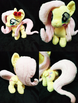 Mini Fluttershy Plushie(commission) by astuyasiroh09