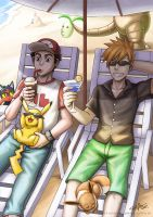 Holiday at Alola by stryler