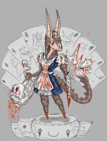 Alice the Armadillo by Uriil