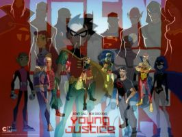 Teen Titans and Young Justice. by youngjusticewriter
