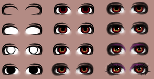 Eye tutorial 2 by lNeliel