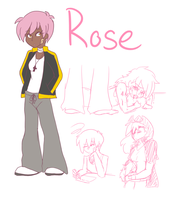 AMNT: Rose Concept Sketches by RouletteSimone