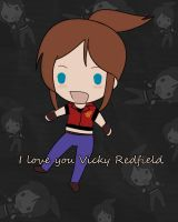 Claire Redfield loves Vicky by AsketRedfield