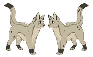 Cat adopt 1 - 20 points (TAKEN) by Redbell9