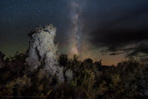 Mono, Meteorites, Milkyway by MattGranzPhotography