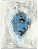 Blue Ghost by justinaerni