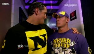 Wade Barrett And John Cena 2 by shikatemalover