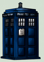 TARDIS by captaink1rk