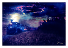 Carry Me Home Night Train by nine9nine9