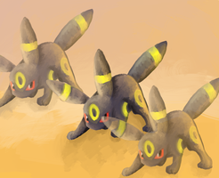 Umbreon used Faint Attack by xXCanvasXx