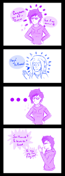 [Comic] Gay for Fishy by YouFoundTheOcarina