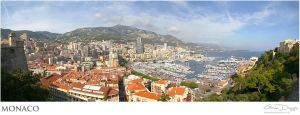 Monaco - Skyline by gdphotography