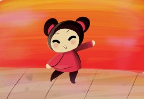 Pucca mischief by capcappucca222