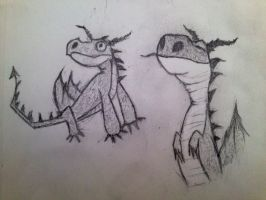 How To Train Your Dragon doodle by FIRNENxSAPHIRA
