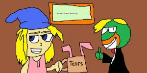 Filpz and SwaySway Drinks Haters' Tears by Tommypezmaster