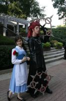 AWA 2010 - Belle and Axel by CaptainEvie