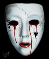 Crying behind the mask by anna-elizabeth