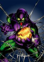 Green Goblin by MarcBourcier