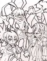 Disgaea Fan Art by Sazuko