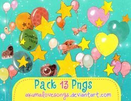 Pack 13 pngs by akumaLoveSongs