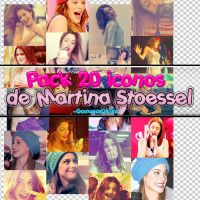Pack 20 iconos de Martina Stoessel by GomosasDeTini