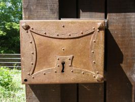 old Door lock by archaeopteryx-stocks