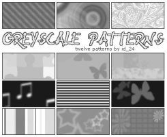 Greyscale Patterns by id-24