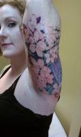 Julia's cherry blossom's by tattoojoeslive