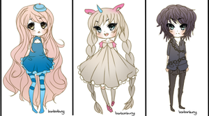 Mini Chibis Batch 3 by Miivei