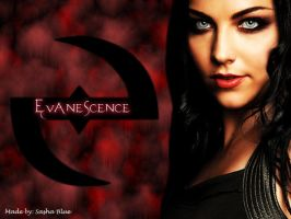 Evanescence Wallpaper by Sasha-Blue