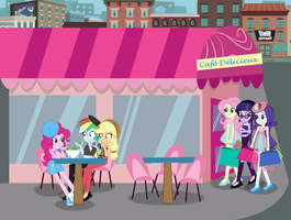 MLP EG: Fun Day in France! by EninejCompany
