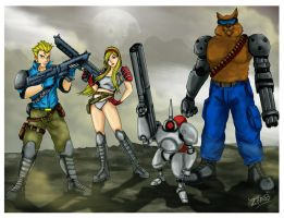 Contra Hard Corps by TwentySevenAB