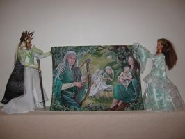 Thranduil and Esteliel and their Beautiful dream by Menkhar