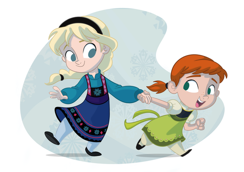 Let's Go Build A Snowman by Sibsy