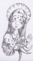 .Mother and Child by anarchlien