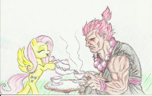 Fluttershy's reform school for villains (Akuma) by joelashimself