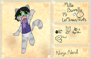 KKC App: Millie by VedtheFlameDevil