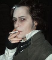 Sweeney Todd Smokes??? by PC-IchabodCrane