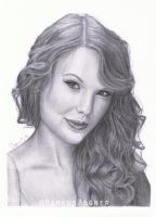Taylor Swift (drawing) by MarkusBogner