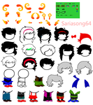 HS: Free to use bases! by saria-adopts-64