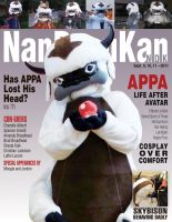 Nan Desu Kan Magazine appa Mock-up by TeamDaiGurren